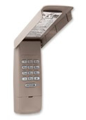 Exterior keypad, digital, 4-digit code, PIN, 877MAX
