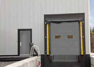 Commercial garage doors offered by Garaga