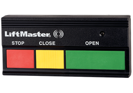 3-Button Open/Close/Stop Remote Control 333LM