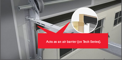 AirBarrier Flexible Weather Stripping