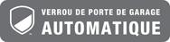 Logo Verrou de porte de garage automatique