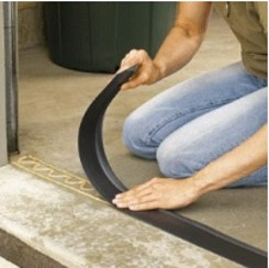 Storm Shield garage door threshold