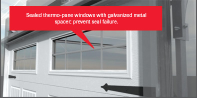 Sealed Thermopane Windows
