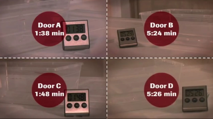 Why Choose a Garaga Door? Reason #1 STOP THE WIND