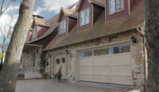 Discover a Garaga garage door with personality