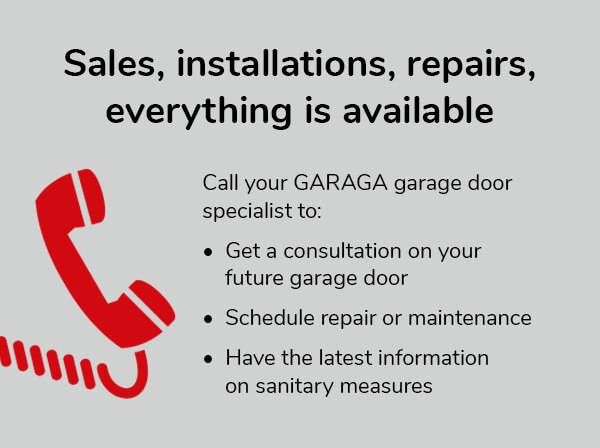 Sales, installations, repairs, everything is available
