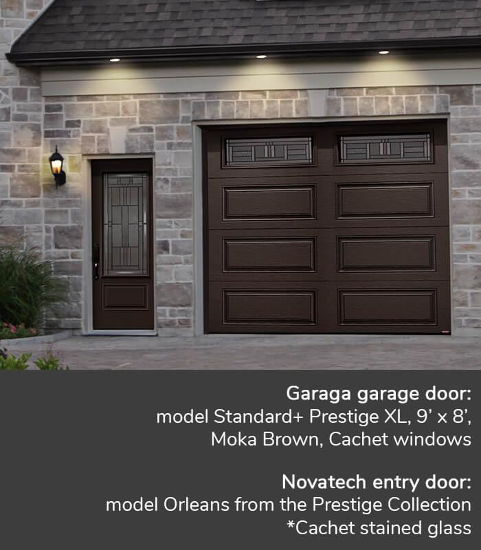 Cachet Windows Garage Doors Garaga Novatech
