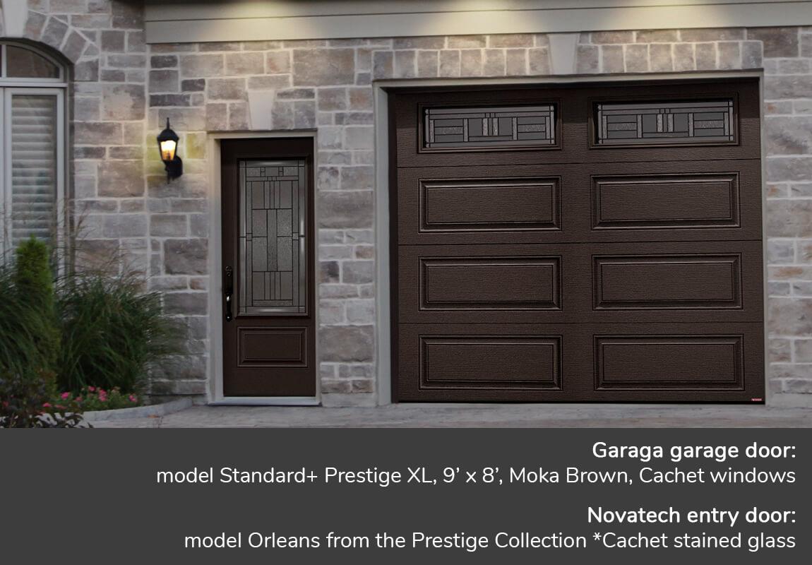 Novatech doors canada garaga garage door standard flush for 10 x 7 garage door canada