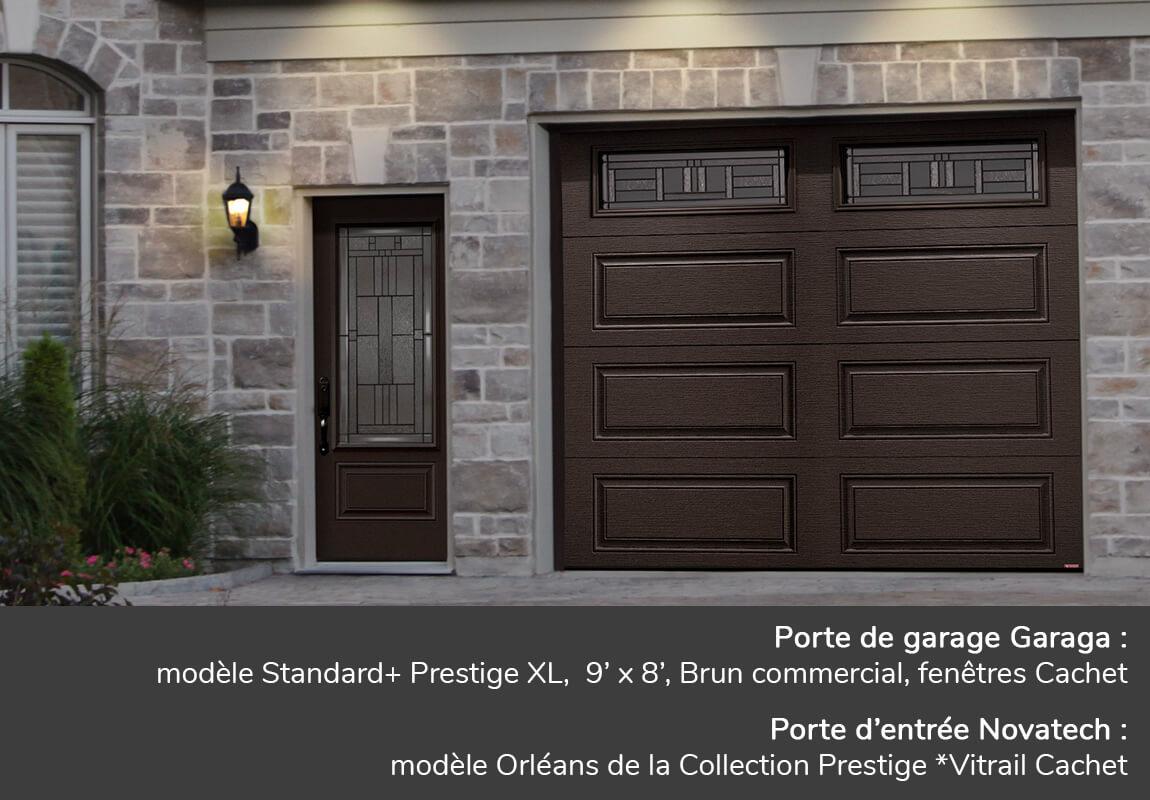 Portes De Garage Prestige Xl Garaga Novatech