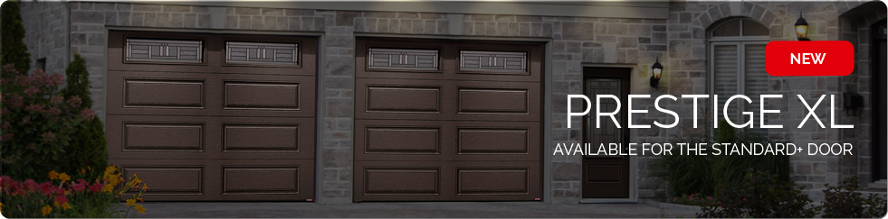 Prestige XL Design - Available for the Standard+ garage door