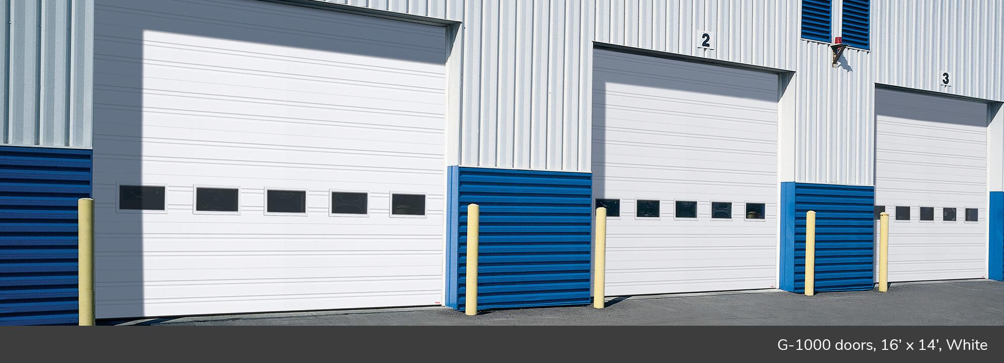G 1000 Commercial Garage Door Manufacturer Garaga