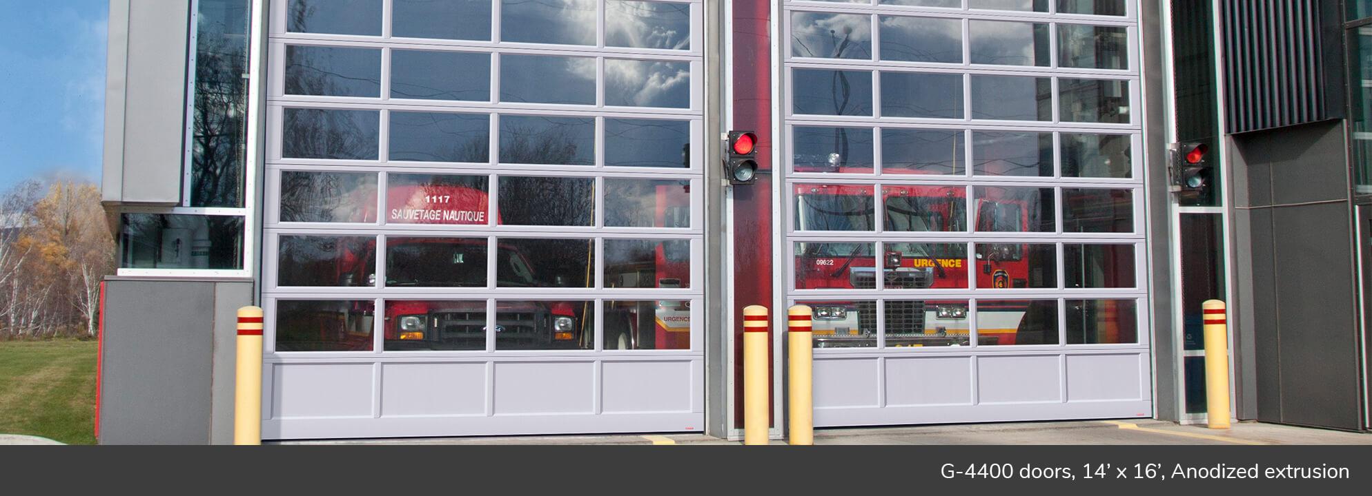 G 4400 Commercial Garage Door Manufacturer Garaga