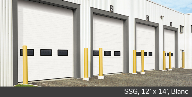 SSG, 12' x 14', Blanc doux