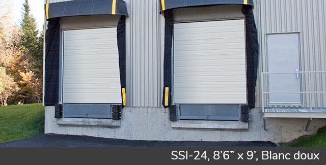 "SSI-24, 8'6"" x 9', Blanc doux"