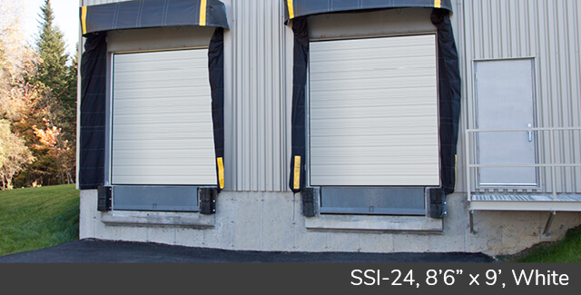 "SSI-24, 8'6"" x 9', White doors"