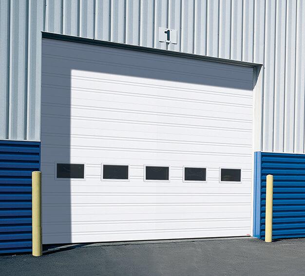 G-1000 door, 16' x 14', White