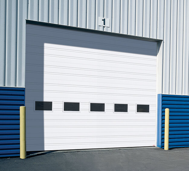 Porte G-1000, 16' x 14', Blanc