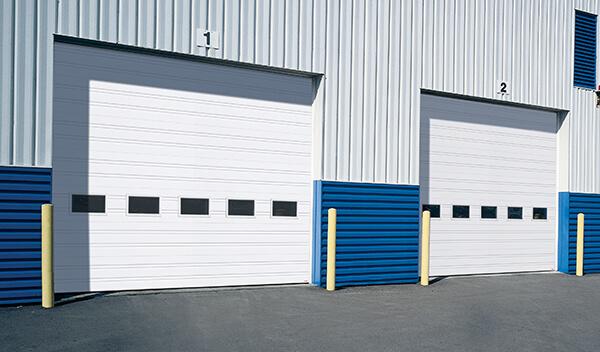 G-1000 doors, 16' x 14', White