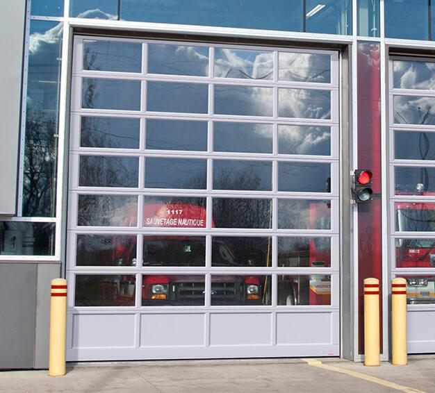 G-4400 doors 14u0027 x 16u0027 Anodized extrusion & Commercial Industrial u0026 Agricultural Garage Doors | Garaga