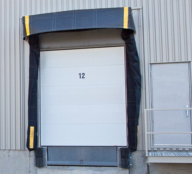 "Portes TG-6200, 8'6"" x 9', Blanc glacier"