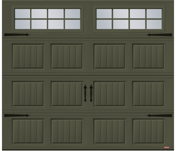 Acadia 138 North Hatley SP garage door by GARAGA