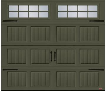 Porte de garage Acadia 138 North Hatley SP par GARAGA