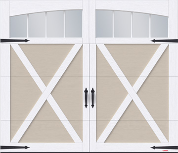 Eastman garage door by GARAGA