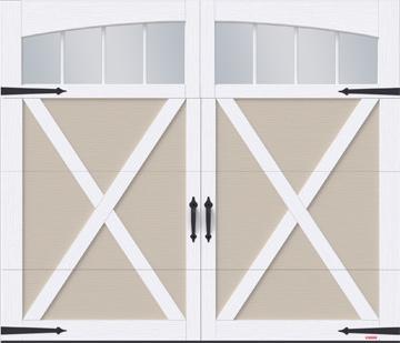 Porte de garage Eastman par GARAGA