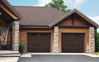 Triforce Shaker-NH LP, 9' x 8', Brun moka, fenêtres avec Appliques Bellevue