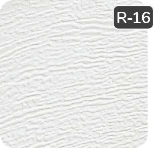 White color for aluminum Garaga garage doors