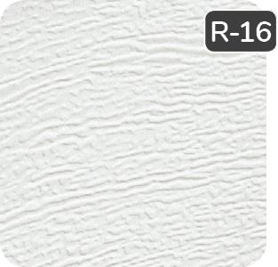 White color for aluminum Garaga garage doors