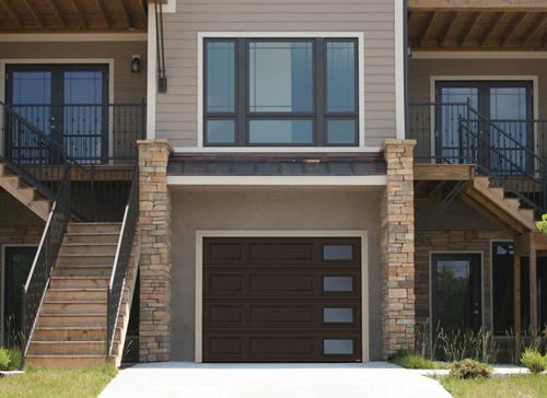 Doors Brown Garage : Contemporary garage doors garaga