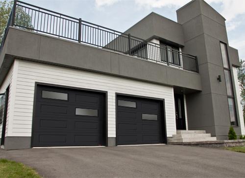 Contemporary garage doors garaga