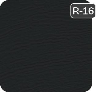 Couleur Noir pour porte de garage en acier Garaga