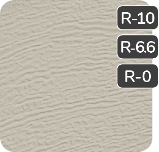 Claystone color for steel Garaga garage doors