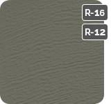 Dark Sand color for steel Garaga garage doors R16-R12