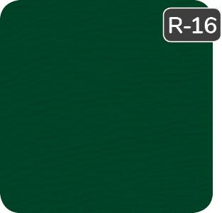 Vert conifère pour porte de garage Garaga en acier