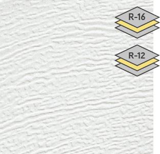 Ice White color for steel Garaga garage doors