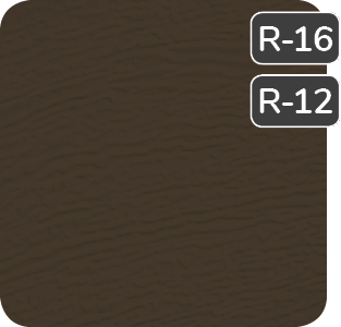 Moka Brown color for steel Garaga garage doors R16-R12