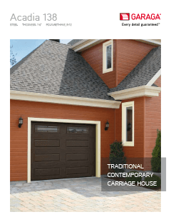 Acadia 138 brochure