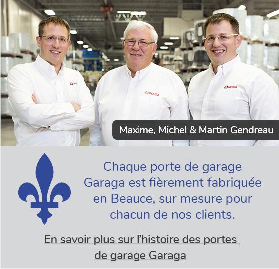 Maxime, Michel et Martin Gendreau