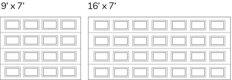 Configuration Classique CC / Classique Court layout