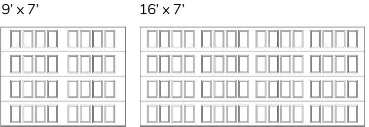 Shaker-Flat XS / Shaker-Flat XSmall Layout
