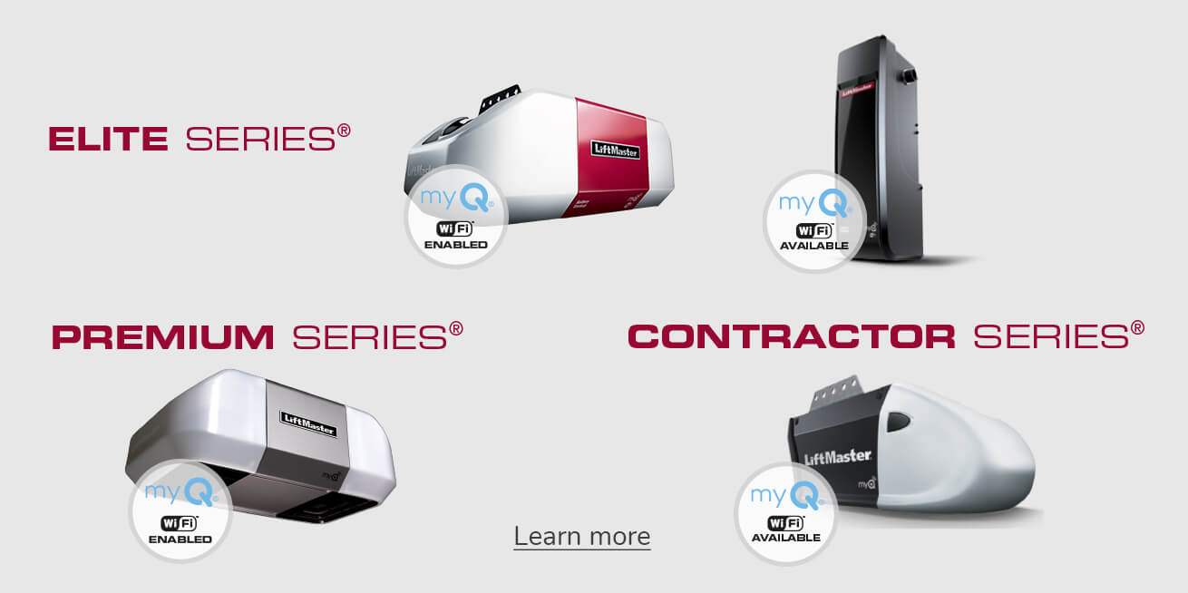 LiftMaster - Elite, Premium and Contractor Series for garage door openers