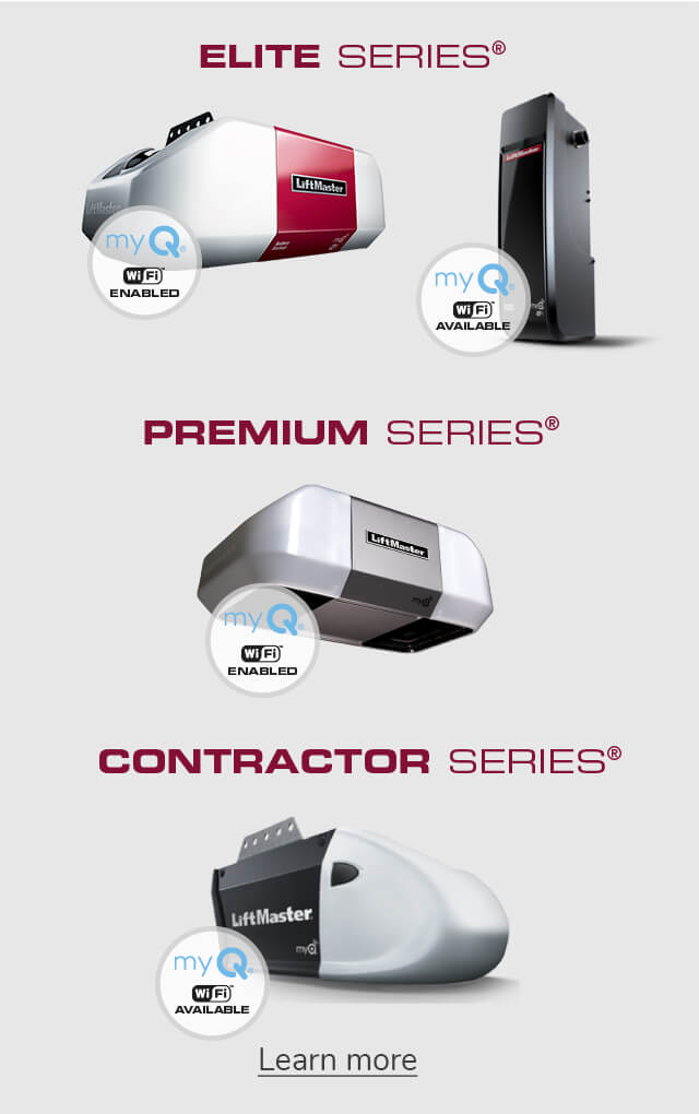 LiftMaster - Elite, Premium and Contractor Series for garage door openers
