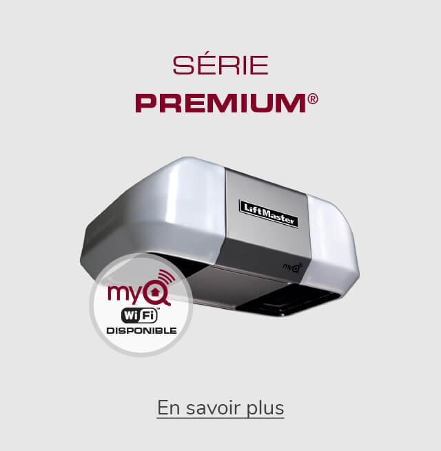 LiftMaster - Série Premium pour les ouvre-portes de garage