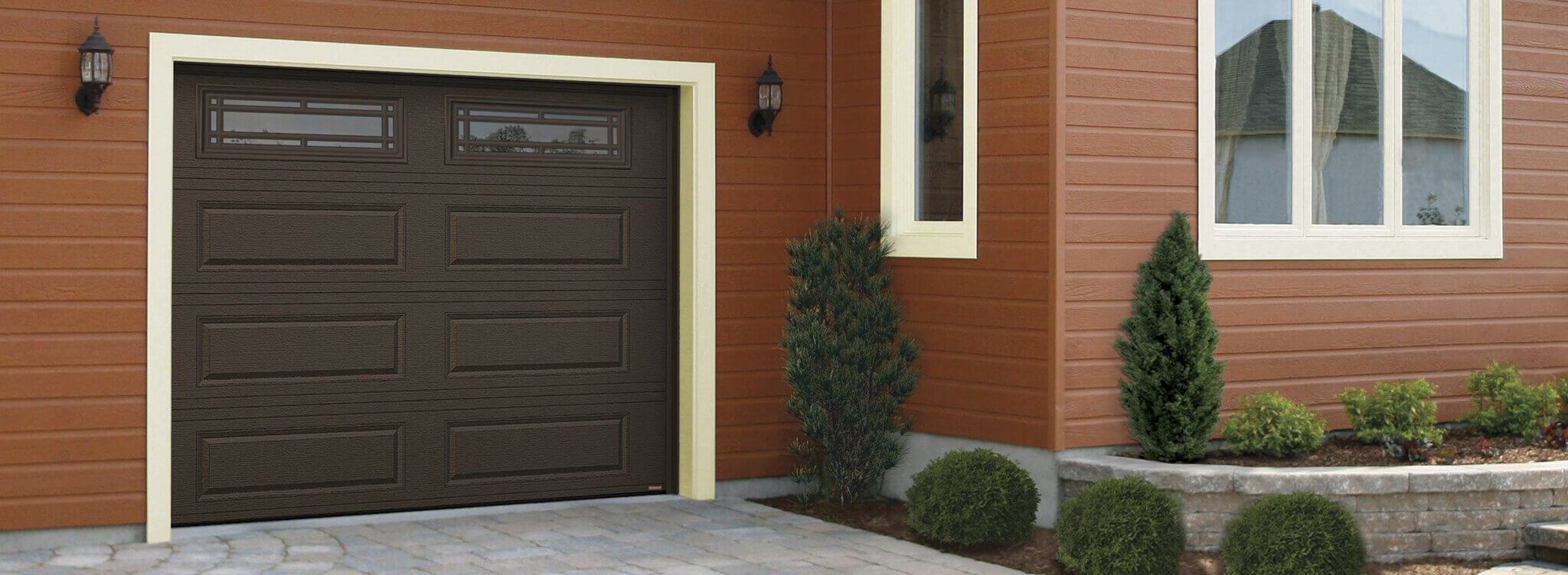 Acadia 138 Classic XL, 9' x 7', Moka Brown, windows with Prairie Inserts
