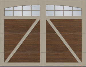 Moulures arche Panoramique 8 carreaux - Eastman E-22