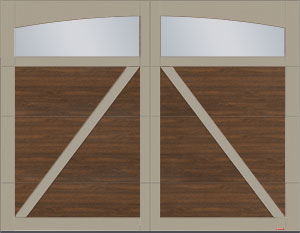 Moulures arche Panoramique Clair sans baguettes - Eastman E-22