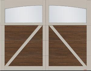 Moulure arche Princeton Panoramique clair sans baguettes
